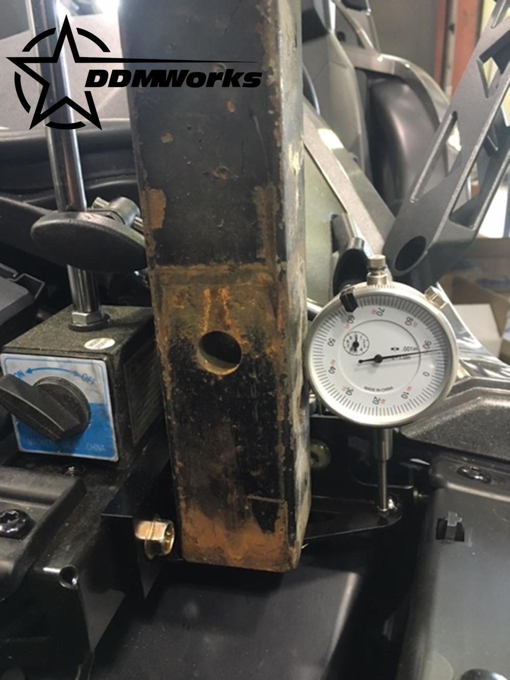 Slingshot Hood bracket, testing