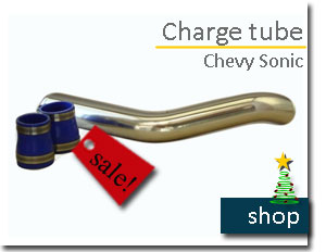 Chevy Sonic Drivers side charge tube