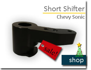 Chevy Sonic Short Shifter
