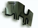 Stainless steel intake heat shield